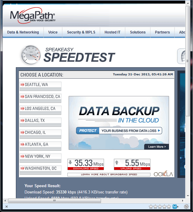 speedtest-speakeasy